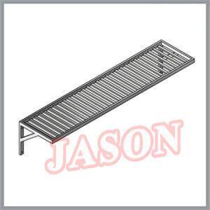 Giá nan inox 1 tầng | Kệ nan inox treo tường