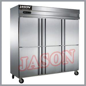 Tủ đông 6 cánh inox | Tủ lưu trữ thực phẩm