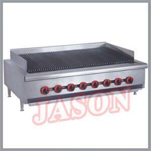 Bếp nướng than đá nhiệt dùng gas