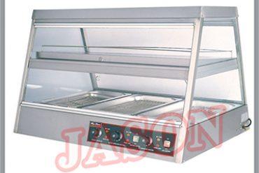 Bàn giữ nóng thức ăn trong nhà hàng, bếp ăn công nghiệp