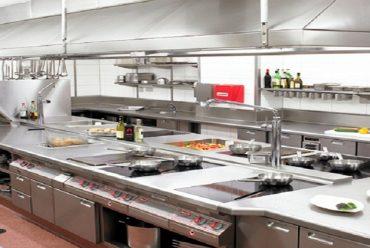Lợi ích to lớn của bếp inox công nghiệp