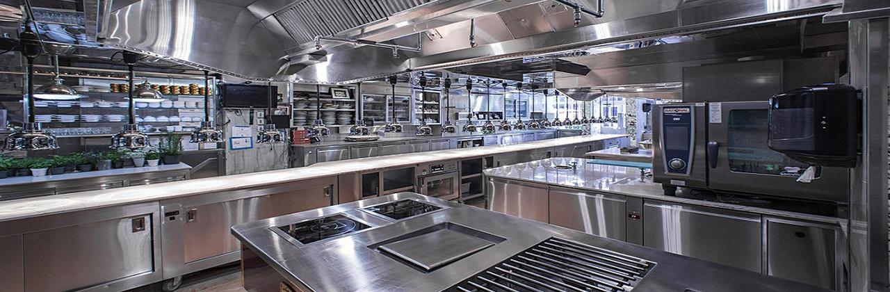 hướng bếp công nghiệp