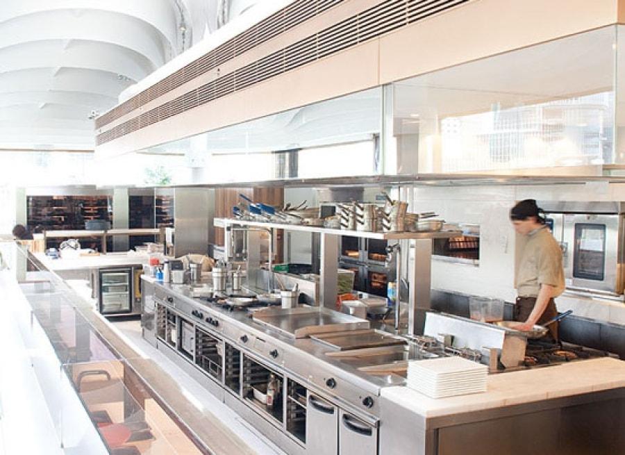 thiết kế bếp công nghiệp hiện đại