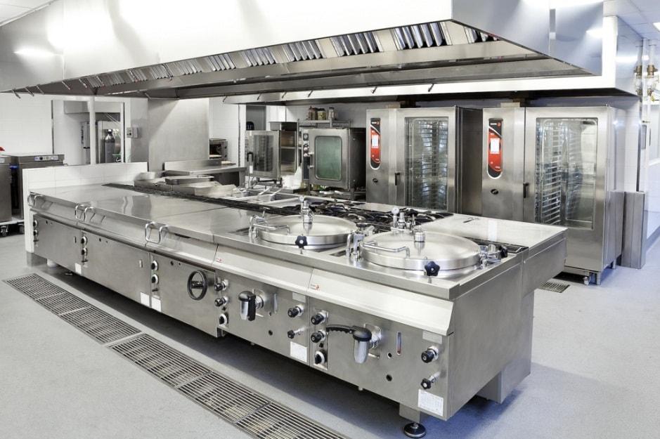 Kết quả hình ảnh cho công tác vệ sinh bếp công nghiệp