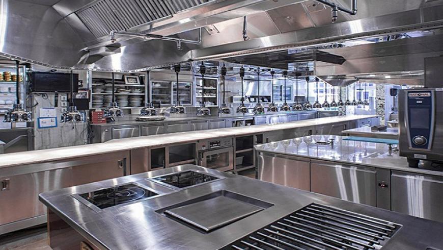 Kết quả hình ảnh cho thiết kế bếp công nghiệp